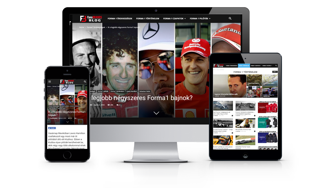 FansBRANDS Forma 1 Blog